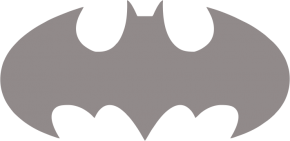 Светоотражающий стикер Бетмен