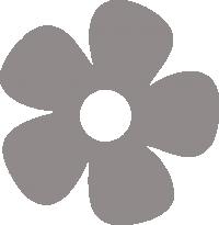 Светоотражающий стикер Цветочек