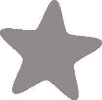 Светоотражающий стикер Звёздочка