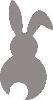 Светоотражающий стикер Зайчонок
