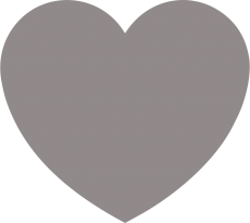 Светоотражающий стикер Сердце