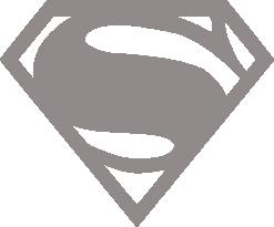 Светоотражающий стикер Супермен