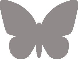 Светоотражающий стикер Бабочка